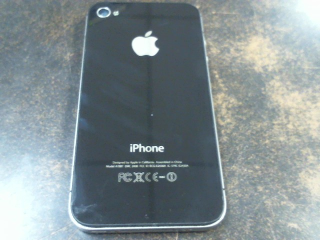 APPLE Cell Phone/Smart Phone IPHONE 4S A1387