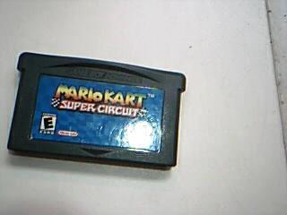 NINTENDO Nintendo GBA Game GAMBOY ADVANCE MARIO KART SUPER CIRCUIT