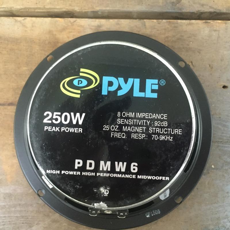 PYLE Car Speakers/Speaker System PDMW6