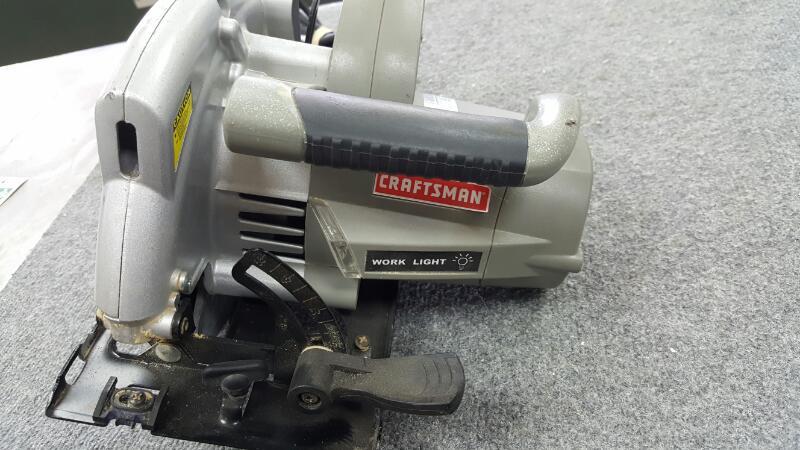 CRAFTSMAN Circular Saw 320.10870 LASER TRAC