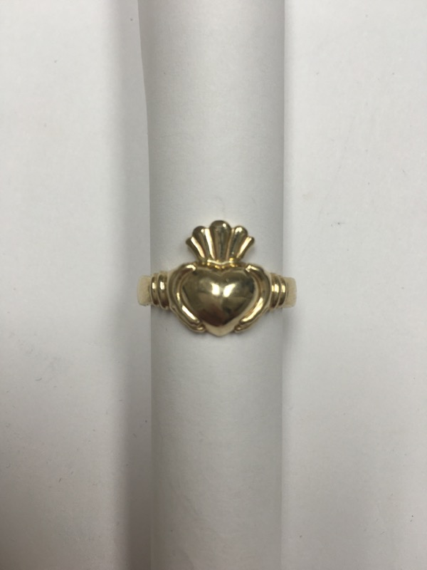 Lady's Gold Ring 14K Yellow Gold 3.2dwt Size:6.8