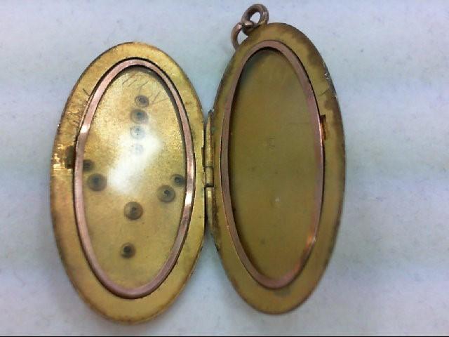 Antique Necklace/Locket GF 12g