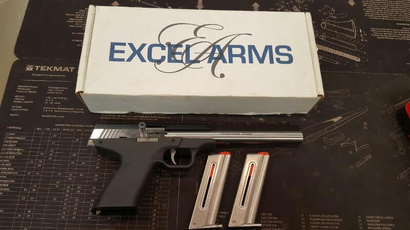 EXCEL ARMS Pistol MP-22