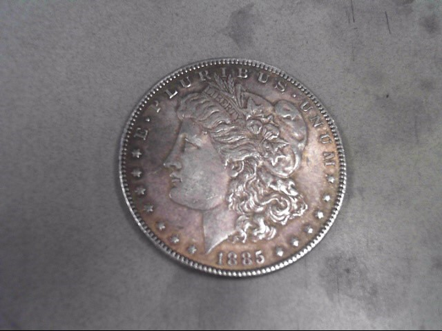 UNITED STATES Silver Coin 1885 MORGAN DOLLAR