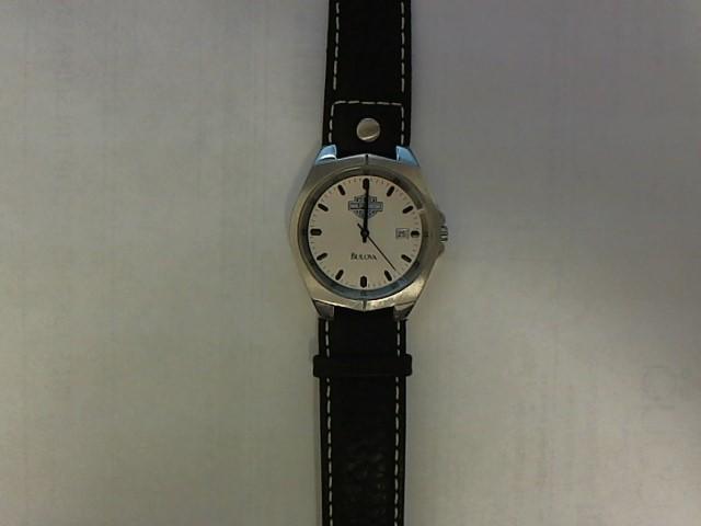 BULOVA Gent's Wristwatch HARLEY DAVIDSON