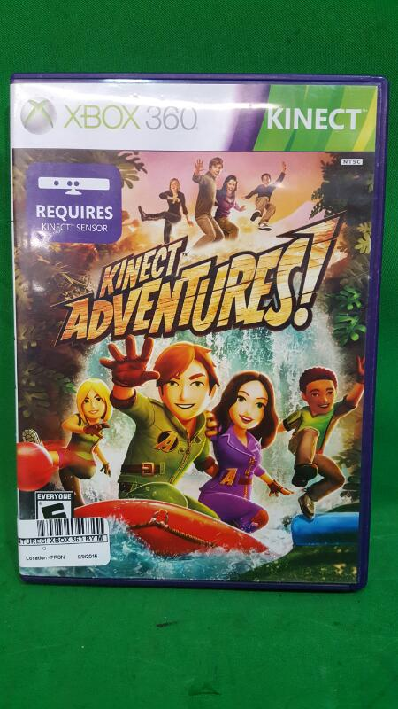 Kinect Adventures! Xbox 360 by Microsoft