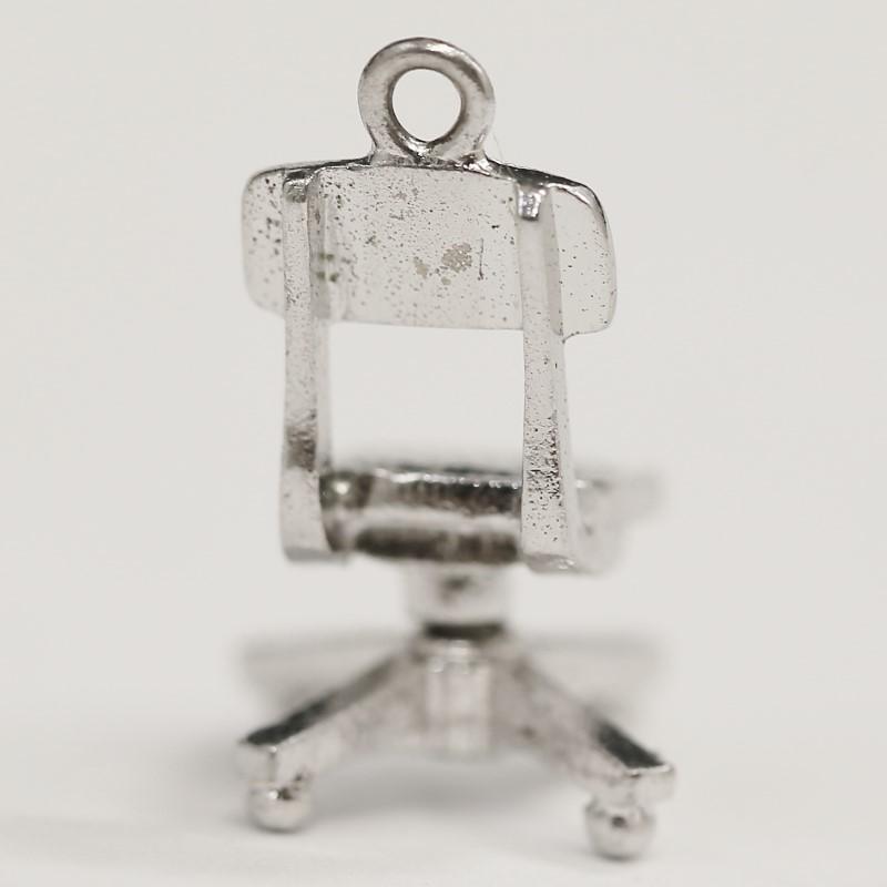 Sterling Silver Desk Chair Pendant