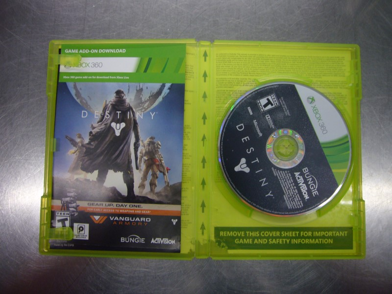 MICROSOFT XBOX 360 Game DESTINY