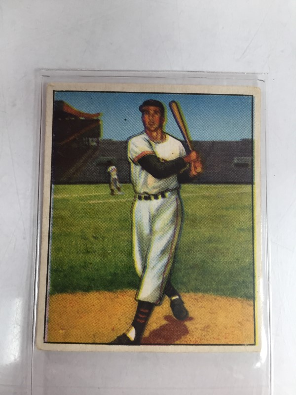 1950 BOWMAN BOBBY THOMSON BASEBALL CARD