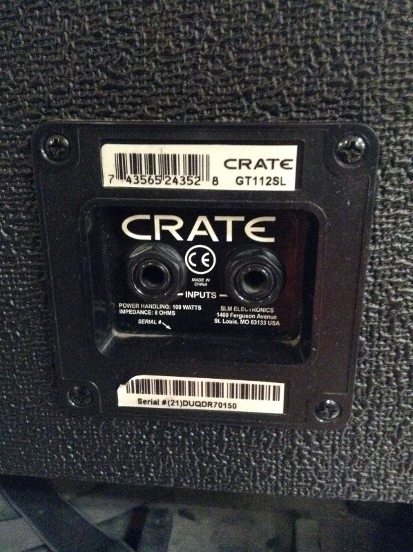 CRATE Electric Guitar Amp AMP GT112SL