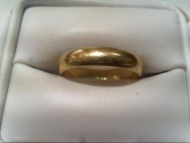 Lady's Gold Wedding Band 14K Yellow Gold 2.6g