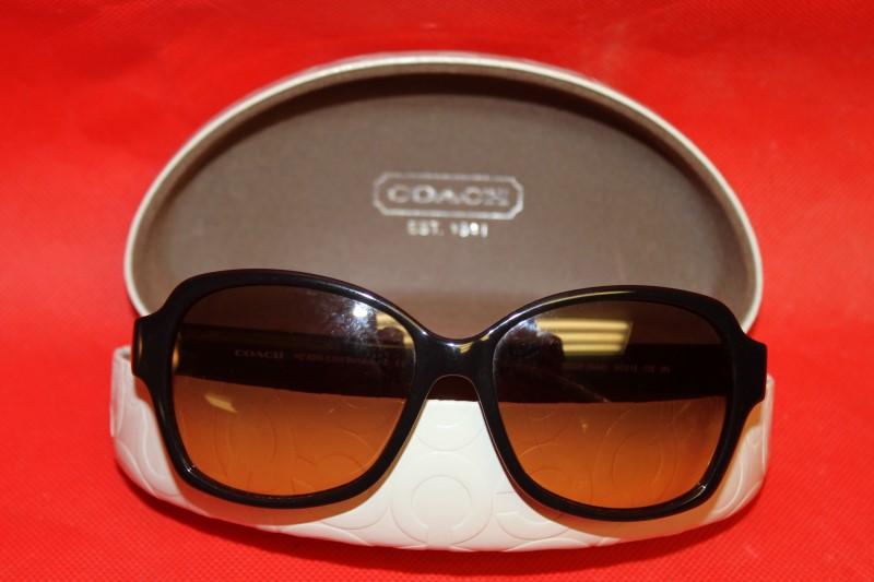 Coach Barbara Dark Tortoise Sunglasses **See Pictures**