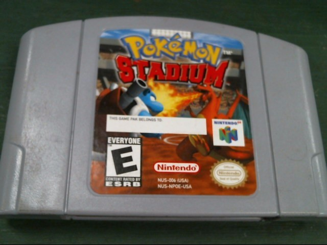NINTENDO Nintendo 64 Game POKEMON STADIUM 64