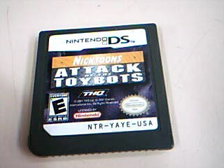 NINTENDO Nintendo Wii Game NICKTOONS ATTACK OF THE TOYBOTS