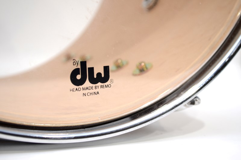 "PDP Concept Maple By DW 12"" x 9"" Tom Drum Natural to Charcoal Fade *"