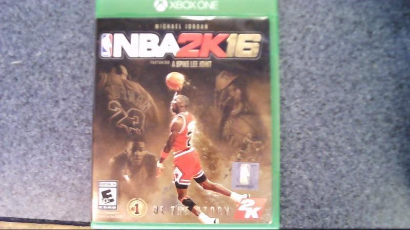XBOX ONE MICHAEL JORDAN SPECIAL EDITION NBA2K16 VIDEO GAME