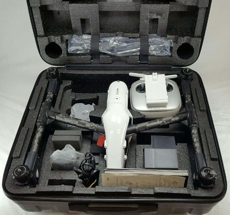 DJI INSPIRE 1 T600 Quadcopter Drone 4K Camera & Controller with Hard Case