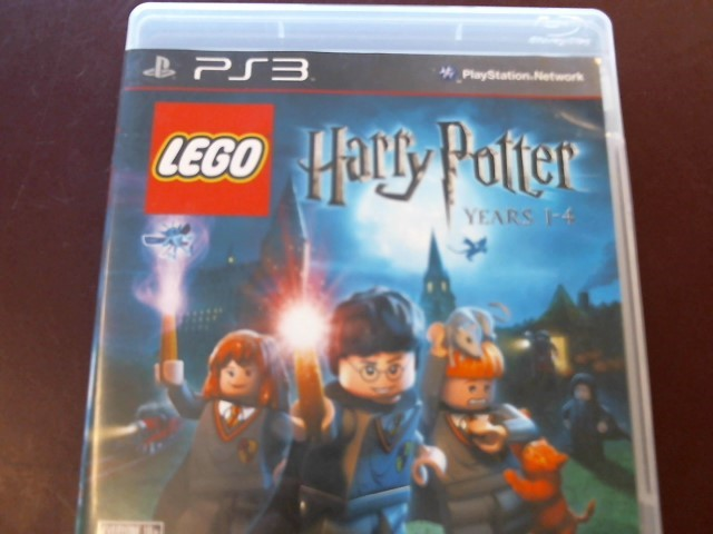 SONY PS3 LEGO HARRY POTTER YEARS 1-4 WITH MANUAL