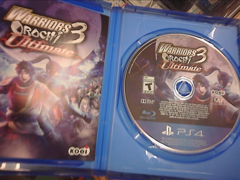 SONY PlayStation 4 Game WARRIORS OROCHI 3 ULTIMATE