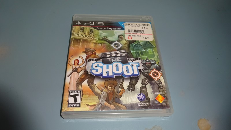 SONY Sony PlayStation 3 Game THE SHOOT PS3