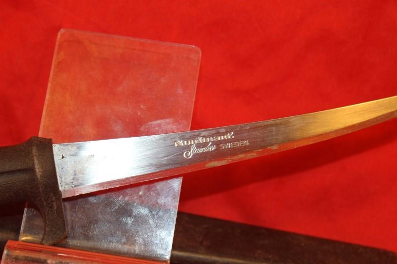 Normark Sweden Fish Processing Fillet Knife Stainless Steel Blade