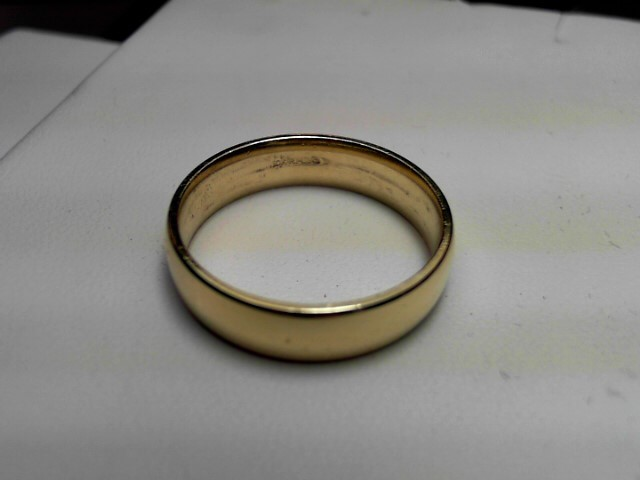 Gent's Gold Ring 10K Yellow Gold 6.1g Size:11