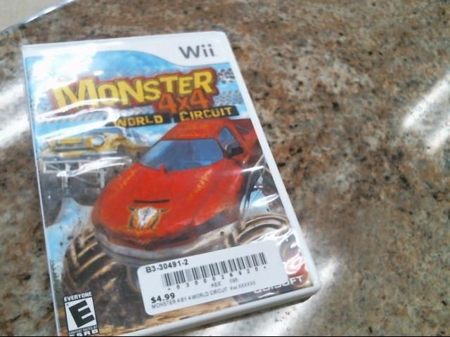 NINTENDO Nintendo Wii Game MONSTER 4X4 WORLD CIRCUT