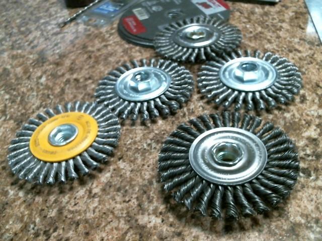 WEILER Drill Bits/Blades MINI ROUGH NECK