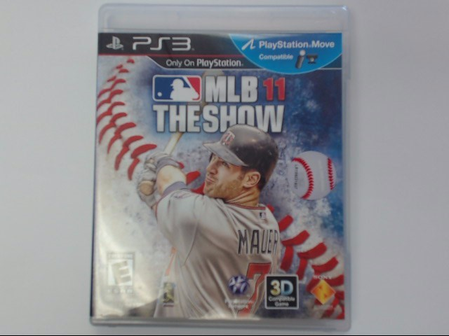 Sony PlayStation 3 Game MLB 11 THE SHOW PS3