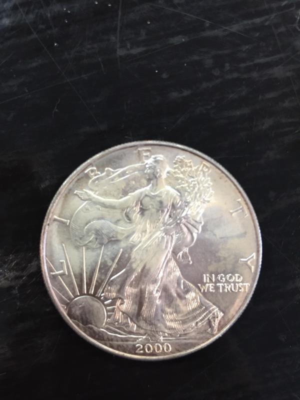 UNITED STATES Silver Coin EAGLE - SILVER EAGLE - 1986 TO PRESENT