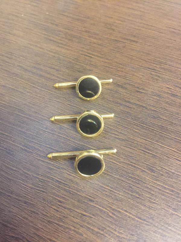 Onyx Gold-Stone Misc. 14K Yellow Gold 8.8g