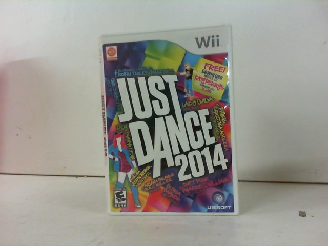 NINTENDO Nintendo Wii Game JUST DANCE 2014