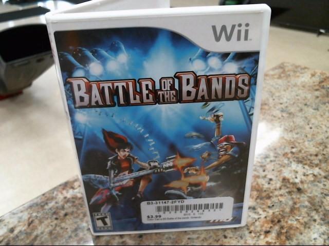 NINTENDO Nintendo Wii Game BATTLE OF THE BANDS