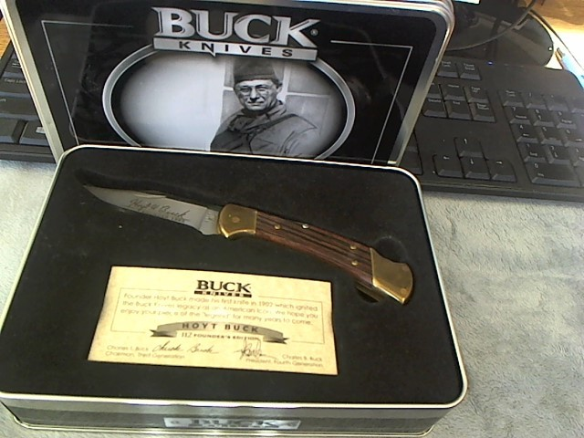BUCK KNIVES Hunting Knife 112T