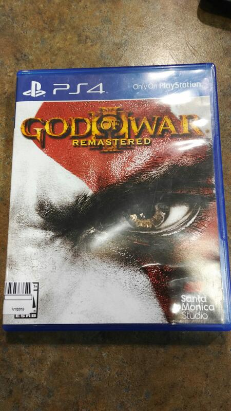 SONY PS4 GOD OF WAR REMASTERED