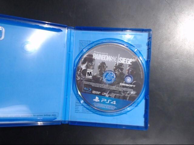 SONY PS4 RAINBOW 6 SIEGE