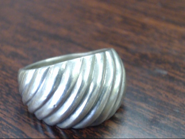 Lady's Silver Ring 925 Silver 5.9g Size:9.5
