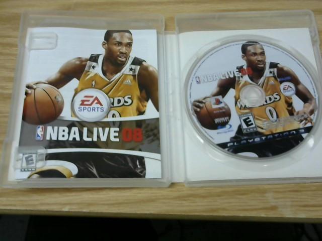 SONY Sony PlayStation 3 Game NBA LIVE 08