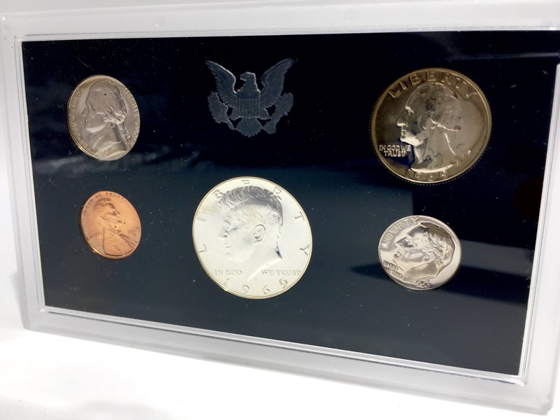 1968-1972 United States Proof Sets - 25 Coins - Nice Collection!