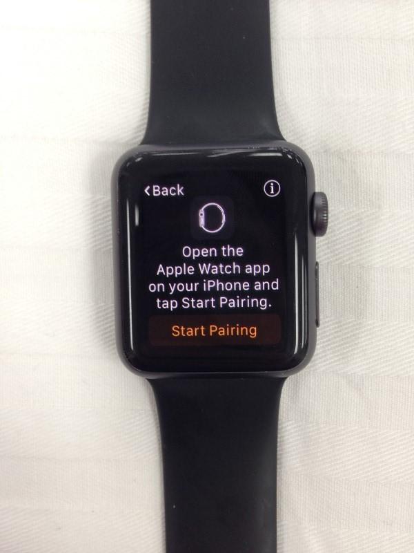 APPLE WATCH 38MM MJ2X2LL/A BLACK