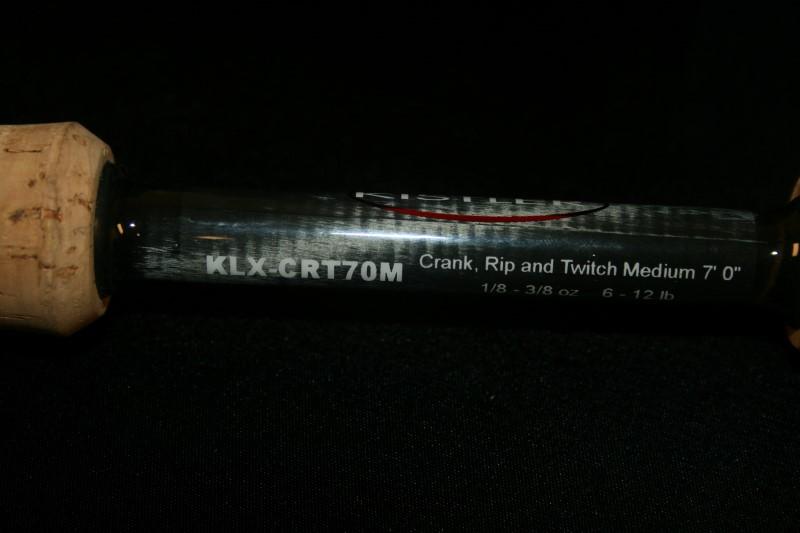 Kistler Fishing Pole Model KLX-CRT70M