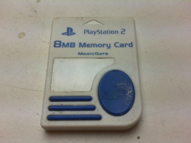 SONY Video Game Accessory MEMORY CARD-PLAYSTATION 2