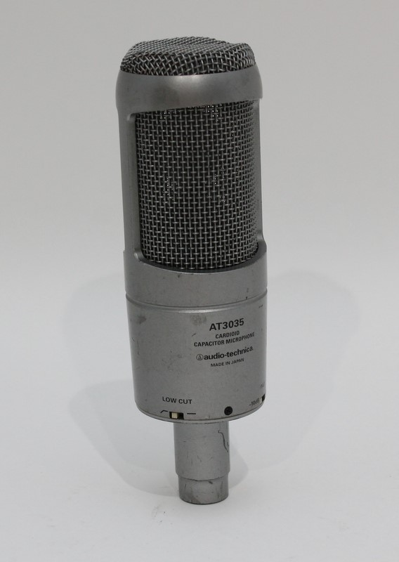Audio-Technica Cardioid Capacitor Microphone AT3035 Free Shipping>