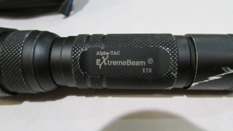 ALPHA TECH FLASHLIGHT EXTREMEBEAM XT8