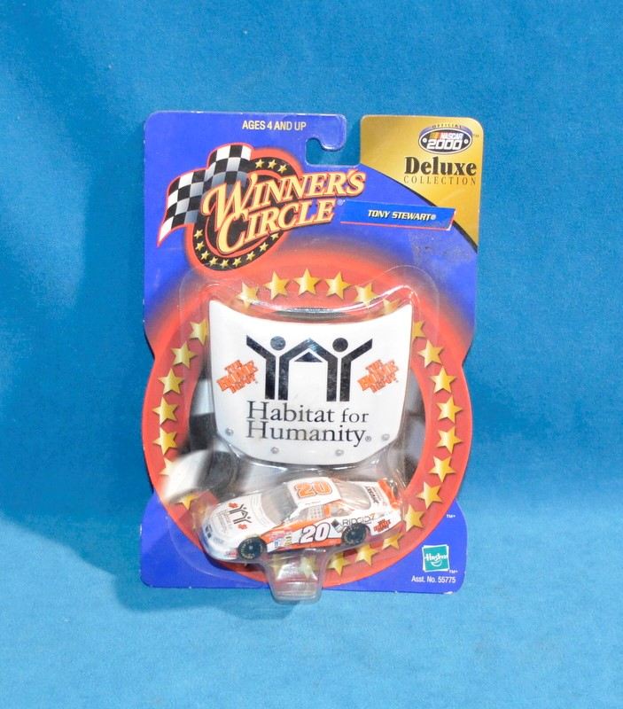 WINNERS CIRCLE Tony Stewart #20 NASCAR Deluxe Collection Diecast Car