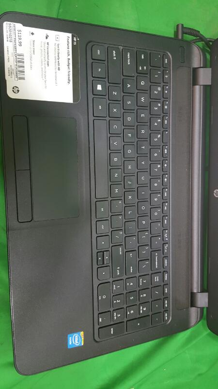HEWLETT PACKARD 15-F039WM 500gb; 4gb Ram; 2.16GHz Laptop