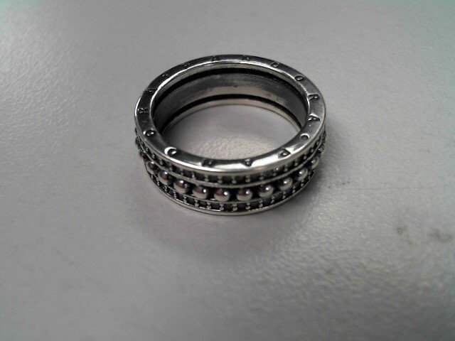 Pandora Lady's Silver Ring 925 Silver 4.8g Size:6
