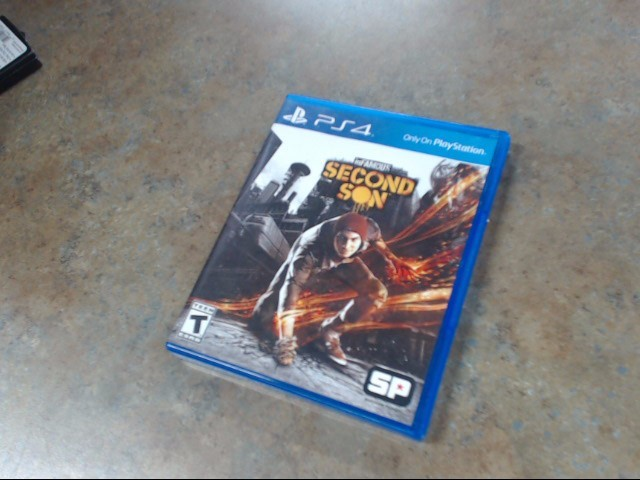SONY Game INFAMOUS SECOND SON PS4 GAME