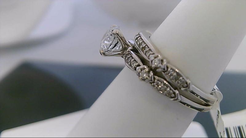 Lady's Diamond Wedding Set MTG 100.00 COST 33 Diamonds .88 Carat T.W.