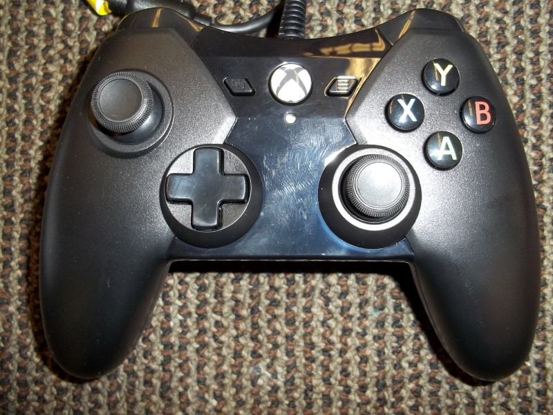 XBOX ONE PRO EX WIRED BLACK CONTROLLER